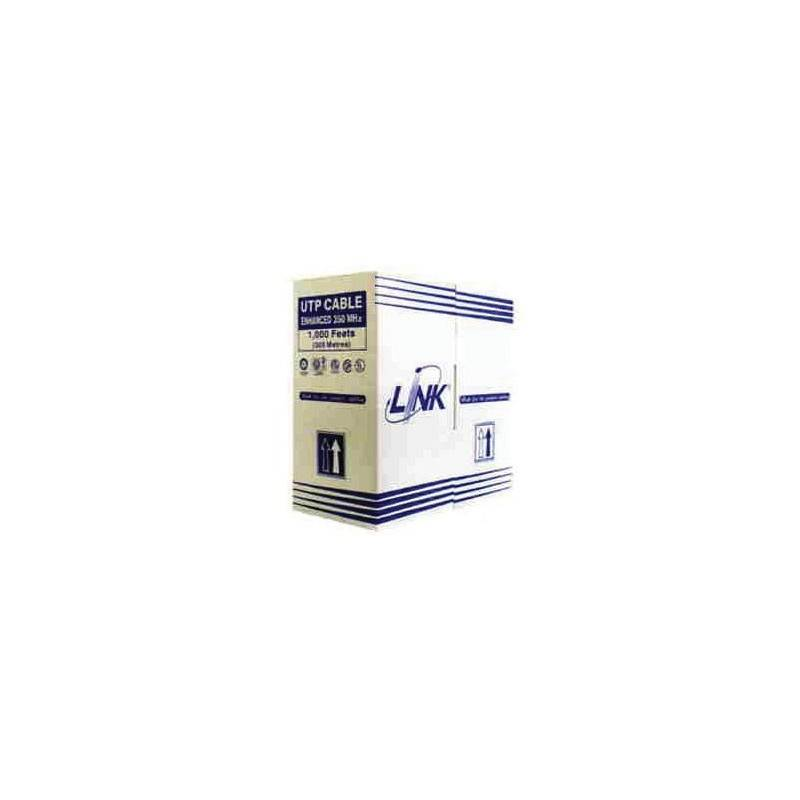 Link US-9015LSZH CAT5E UTP Low Smoke Zero Halogen (350 MHz), CMR-LSZH