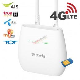 Tenda Tenda 4G680 4G LTE Router แบบใส่ Sim รองรับ 4G ทุกเครือข่าย WIFI N300 ต่อโทรศัพท์ได้