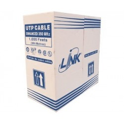 Link US-9035 สาย FTP (Shield) แบบ CAT5E, Screen Twisted Pair, CMR