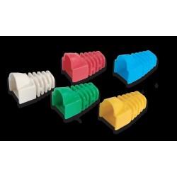 Link สาย UTP/ FTP/STP สาย Lan หัว RJ45 Link US-600X Modular Plug Boot (สีงา/แดง/เขียว/ฟ้า/เหลือง) บรรจุ 10 ตัว/Pkg.