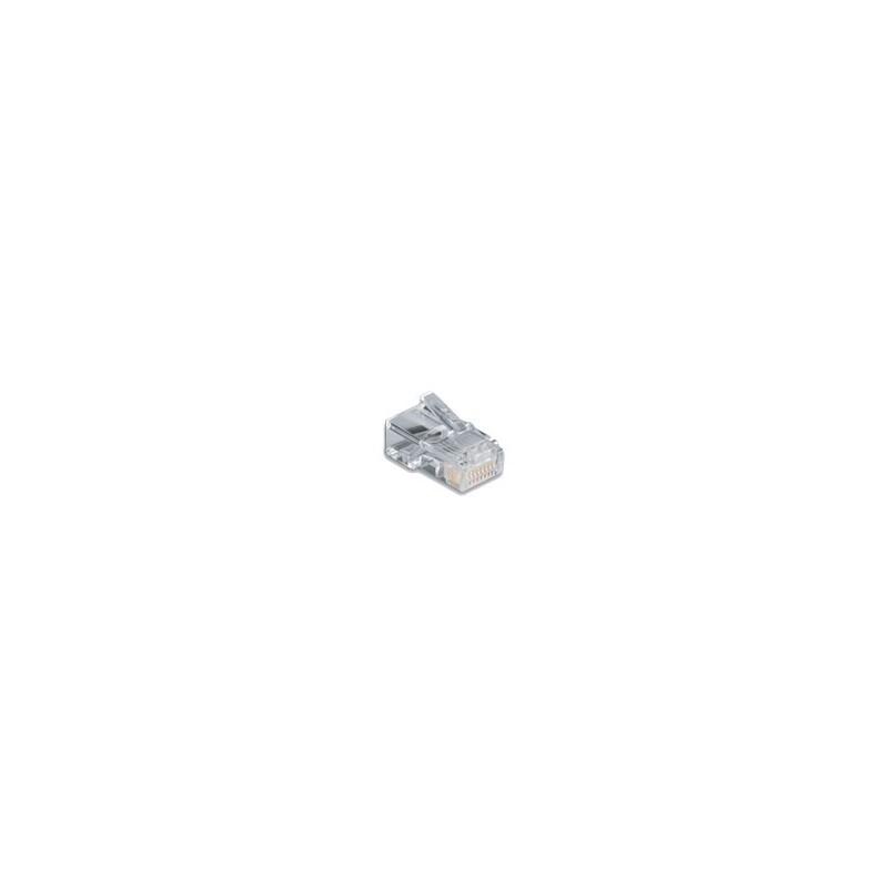Link สาย UTP/ FTP/STP สาย Lan หัว RJ45 Link US-1001 CAT5E RJ45 MODULAR PLUG (ตัวผู้ 8 ขา), for UTP (Unshield) บรรจุ 10 ตัว/Pkg.