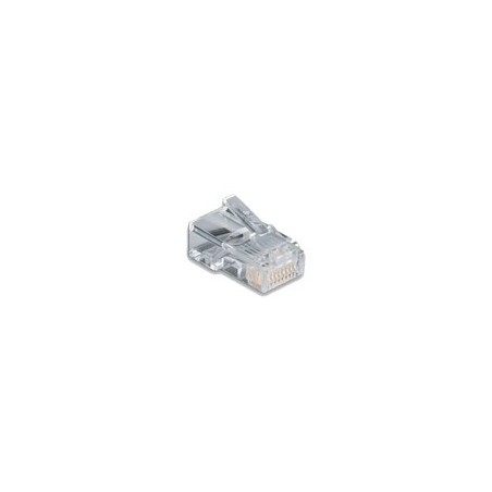 Link US-1001 CAT5E RJ45 MODULAR PLUG (ตัวผู้ 8 ขา), for UTP (Unshield) บรรจุ 10 ตัว/Pkg.