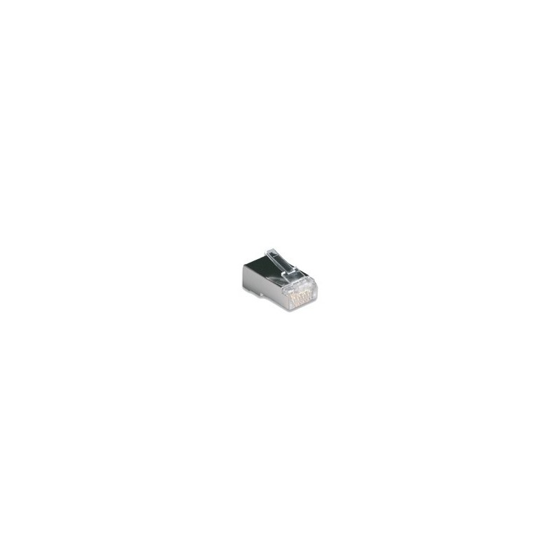 Link US-1004 CAT6 RJ45 MODULAR PLUG (ตัวผู้) for FTP (Shield) บรรจุ 10 ตัว/Pkg. Connector หัวต่อ LAN