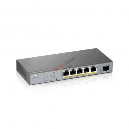 ZyXel Zyxel GS1350-6HP Smart Managed PoE Switch 5 Port Gigabit 802.3bt 60W