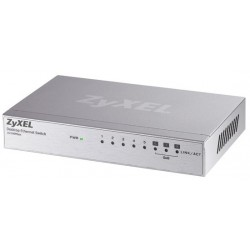 ZyXel Home ZyXEL ES-108A Switch 8 Port ความเร็ว 10/100 Mbps SOHO Palm size switch with autoMDIX (3QoS Port)