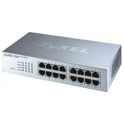 ZyXEL ES-116P Switch 16 Port ความเร็ว 10/100 Mbps SOHO Palm size switch with autoMDIX + Internal Power Supply