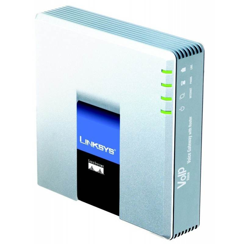 Linksys SPA3102 - IP Analog Gateway 1 FXS,1 FXO, 2-Port 10/100 Mbps, T.38 Fax Over IP