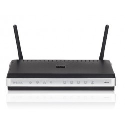 D-Link DIR-615 - Wireless-N Router, 300Mbps, 4-Port 10/100 Mbps, 2x2dBi, MIMO