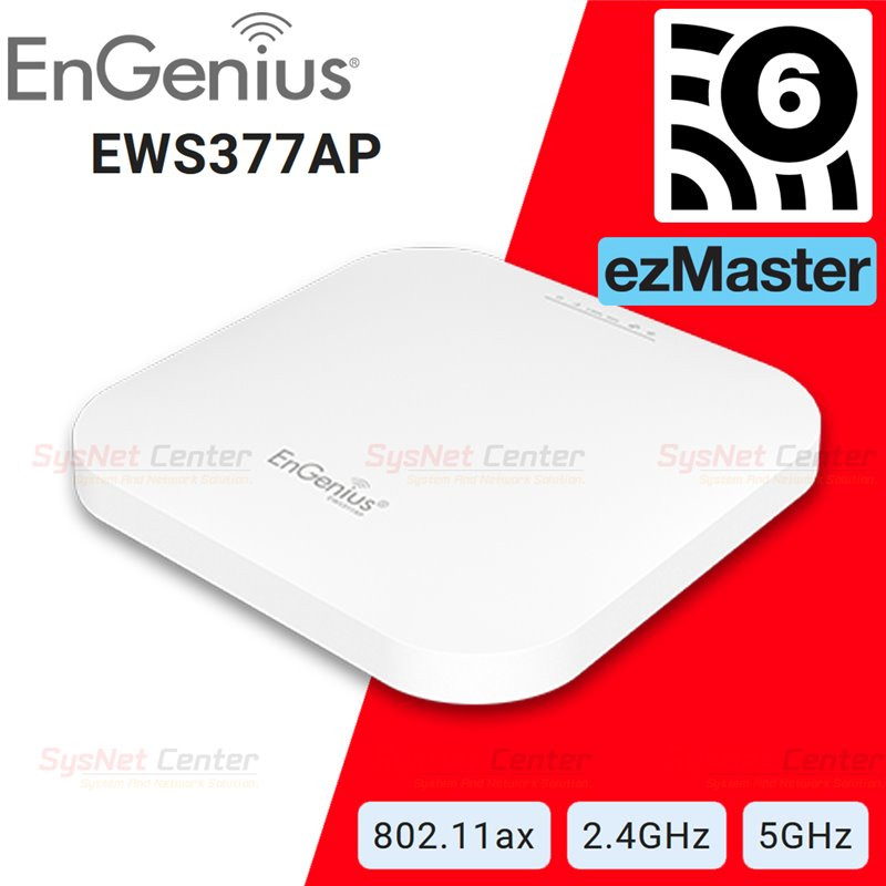 EnGenius EnGenius EWS377AP 802.11ax 4x4 Managed Indoor Wireless Access Point 1,148/2,400Mbps