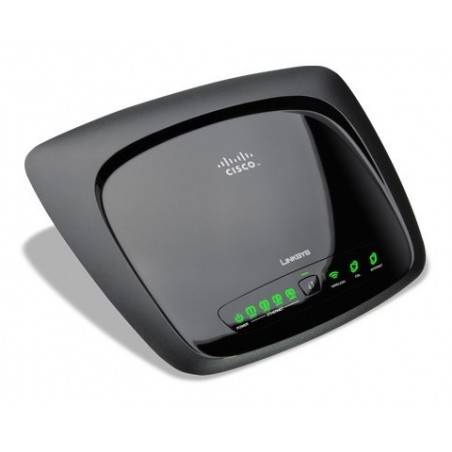 Linksys WAG120N - 150Mbps Wireless-N Home ADSL2+ Modem Router (1T1R)