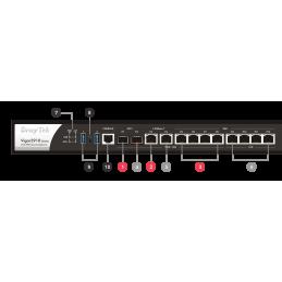 DrayTek DrayTek Vigor3910 Six-WAN Load Balance VPN Router SFP+ รองรับ Internet 8.5Gbps