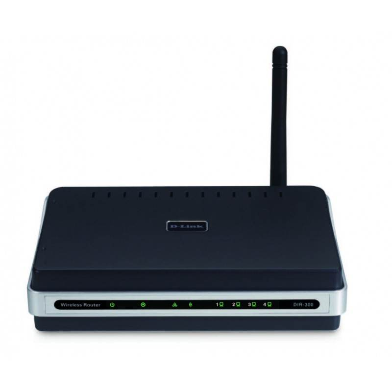 D-Link Broadband Router (Router มี Wireless) D-Link DIR-300 Wireless-G 54 Mbps Broadband Router