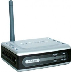 D-Link Home D-Link DP-G310 - Wireless Print Server 1 USB Port (รองรับ IPP)