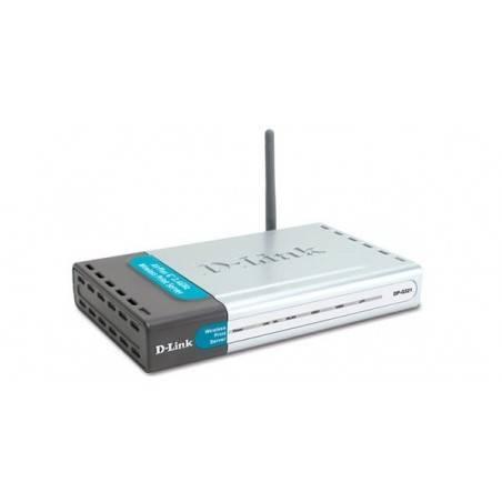 D-Link DP-G321 - Wireless Print Server 2-Port USB 2.0 + 1-Port Parallel (รองรับ IPP)