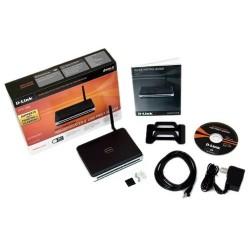 D-Link D-Link DPR-1260 - Multi-Function Wireless Print Server 108/54 Mbps, 4-Port USB 2.0