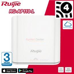 Ruijie Networks Ruijie RG-AP110-L Wall-Mountable Wireless Access Point N 2.4GHz 300Mbps Cloud