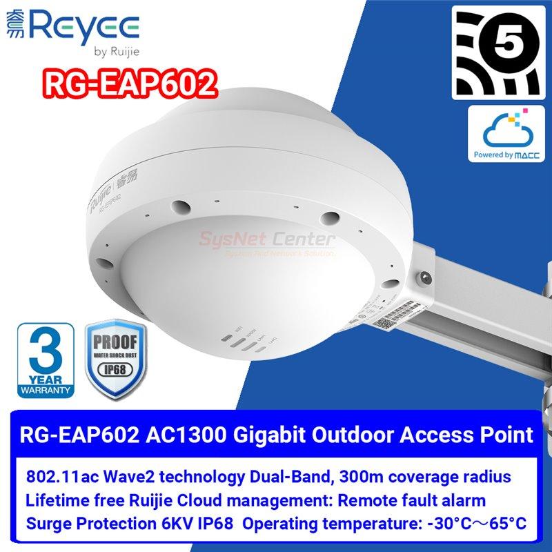 Ruijie Networks Ruijie RG-EAP602 Outdoor Wireless Access Point ac Wave 2, Port Gigabit, Cloud Control