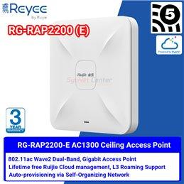 Ruijie Networks Reyee RG-RAP2200(E) Wireless Access Point ac Wave 2, Port Gigabit, Cloud Control