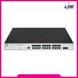 Link LINK PSG-5124 24 Port L2 Managed GIGABIT PoE SWITCH 400W
