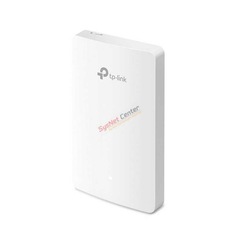 TP-Link TP-LINK EAP235-Wall Omada AC1200 Wireless MU-MIMO Gigabit Wall Plate Access Point