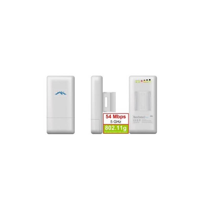 UBiQUiTi Nanostation LOCO5 Outdoor Wireless A/P 5 GHz 54 Mbps,160 mW