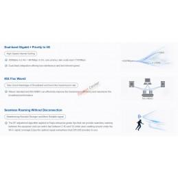 Ruijie Networks Reyee RG-EW1200 1200M Dual-band Wireless Mesh Router