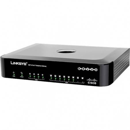 Cisco SPA8000 8-Port IP Telephony Gateway 1 Port Lan