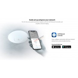 Ubiquiti Ubiquiti UniFi 6 Lite Access Point (U6-Lite-US) Wi-Fi 6 Access Point dual-band 2x2 MIMO