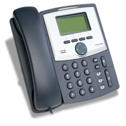 Linksys SPA921 IP Phone, 1 Port Lan 10/100, 128x64 LCD