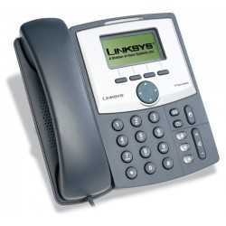 Linksys SPA921 IP Phone, 2 Port Lan 10/100, 128x64 LCD
