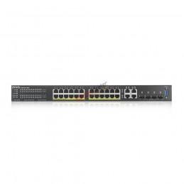 ZyXel Zyxel GS2220-28HP L2+ Managed POE Switch 24 Port, 4 Port SFP, 375W