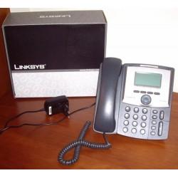 Linksys SPA922 IP Phone, 2 Port Lan 10/100, 128x64 LCD
