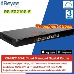 Reyee by Ruijie Reyee RG-EG210G-E Cloud Router 2 WAN, IPSec VPN, Internet 1Gbps