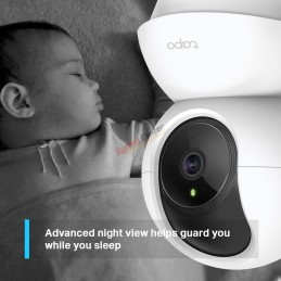 TP-Link TP-LINK TAPO C210 Pan/Tilt Home Security Wi-Fi Camera, 3MP