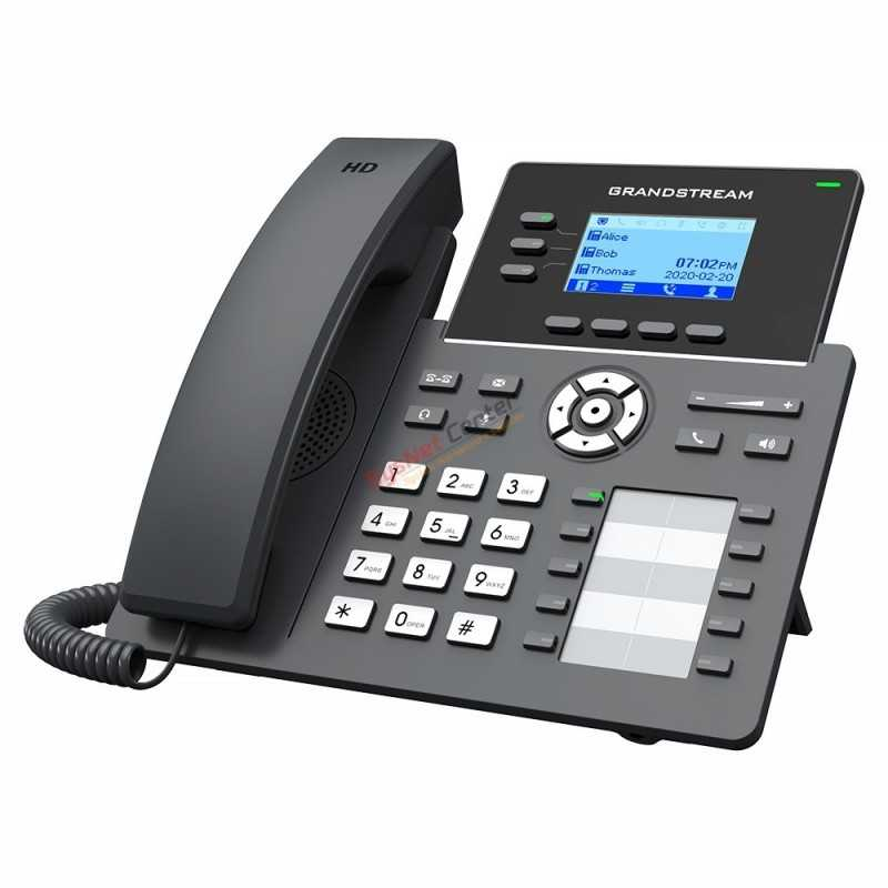 Grandstream GrandStream GRP2604P IP-Phone 3Lines 6 SIP Account, HD Audio, POE
