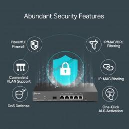 TP-Link TP-LINK ER7206 Omada Gigabit VPN Router, IPSec VPN PPTP, L2TP