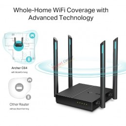 TP-Link Archer C64 AC1200 Wireless MU-MIMO WiFi Router 1200Mbps