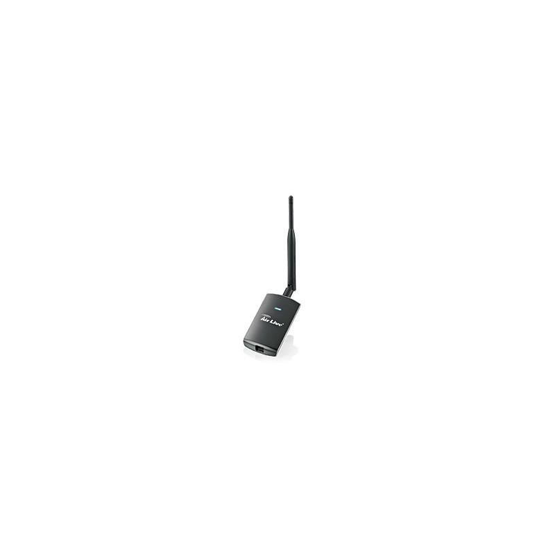Air Live WL-1700USB High Power 1,000MW, LONG RANGE 11g USB Adapter + 5dBi Antenna