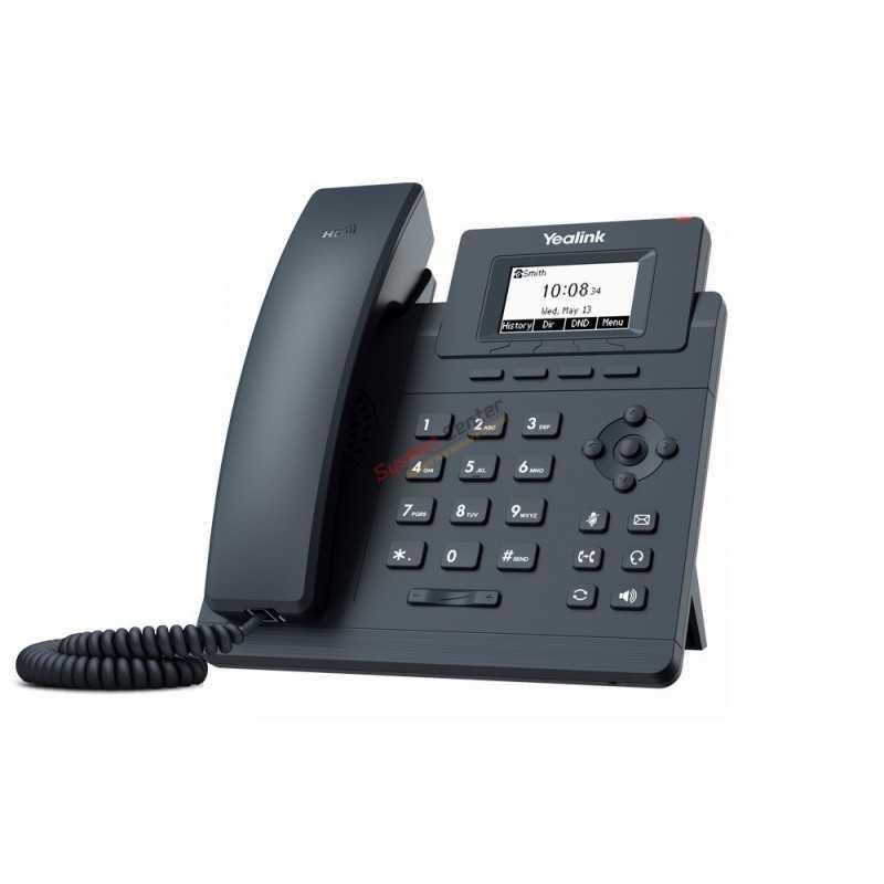 Yealink Yealink SIP-T30P IP-Phone, 1 SIP Account, Opus codec รองรับ POE