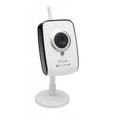 D-Link DCS-2121  IP Camera แบบไร้สาย 802.11g ความละเอียดสูง 1.3 MPixel รองรับการบันทึก Video ผ่าน NAS พร้อม SD-Card Slot