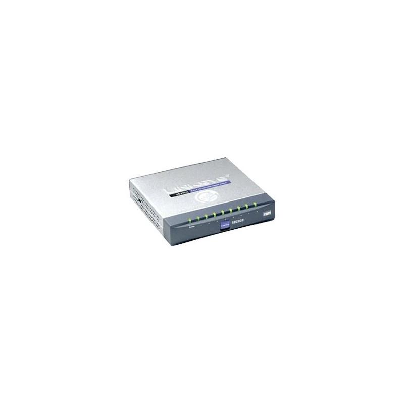 LINKSYS SD2008 Switch 8 PORT 10/100/1000 GIGABIT SWITCH