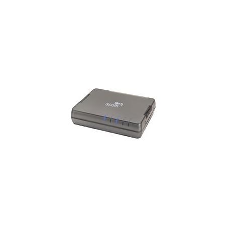 3Com® 3CGSU05A - Gigabit Switch 5 Port 10/100/1000Mbps