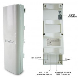 EnGenius EnGenius EOC-2611P Outdoor AccessPoint 54Mbps กำลังส่ง 600 mW เสาอากาศ 10dBi