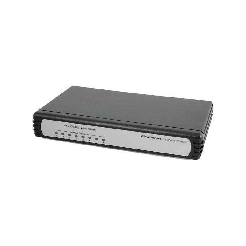 3COM® 3C16791C - OfficeConnect® Fast Ethernet Switch 8 Ports 10/100Mbps ขนาด 5, 8, 16 Port