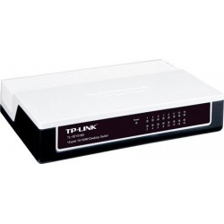 TP-Link Unmanaged Switches TP-LINK TL-SF1016D - 16-port Unmanaged 10/100M Desktop Switch
