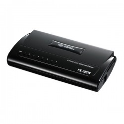 PCi FX-08EW - 8 PORT 10/100MBPS SWITCH Home