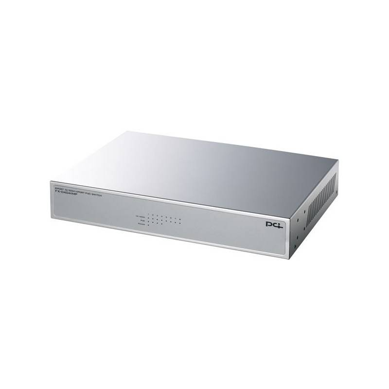 PCi FX-0404IMP - 8 PORT 10/100MBPS SWITCH (4 PORT POE 802.3AF)
