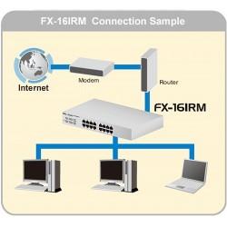 PCi FX-16IMP - 16 PORT 10/100MBPS RACKMOUNT SWITCH