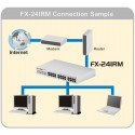 Home PCi FX-24IMP - 24 PORT 10/100MBPS RACKMOUNT SWITCH