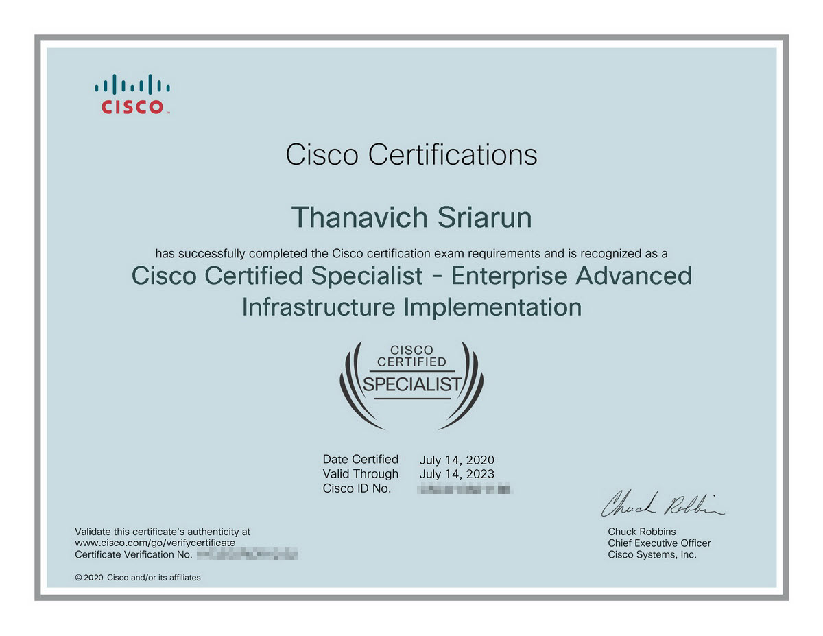 cisco-certified-specialist-enterprise-advanced-infra-implement